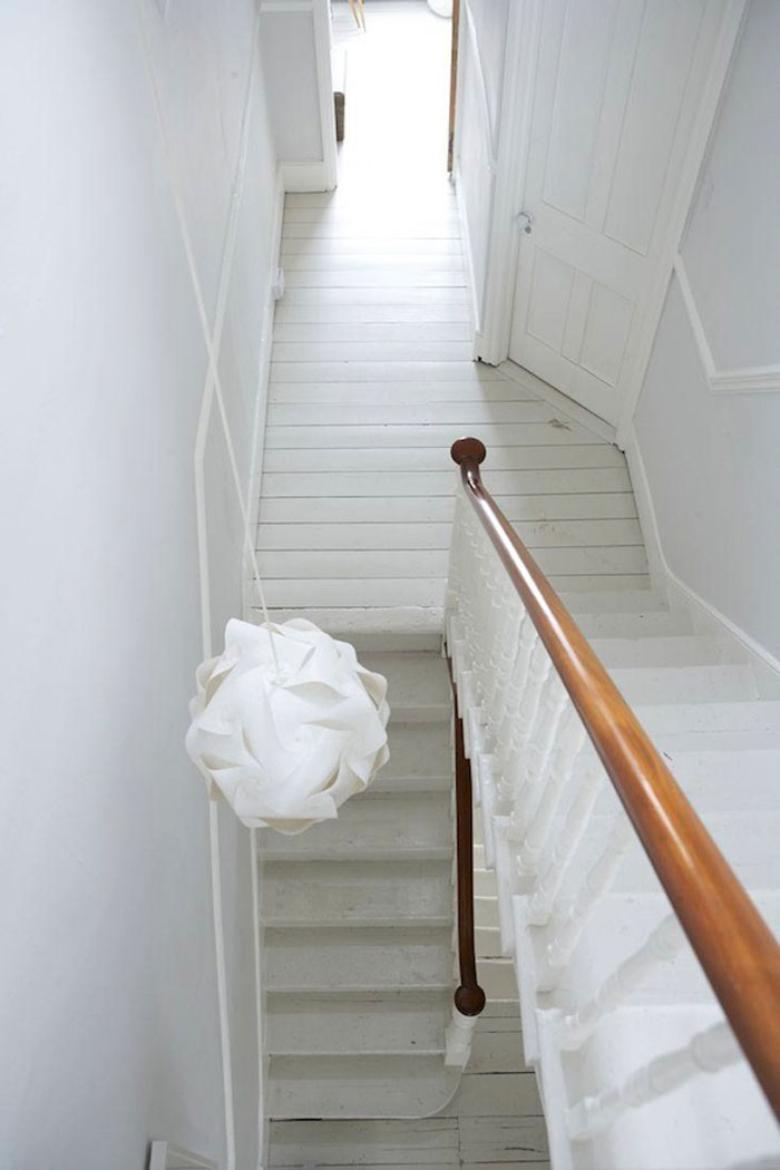 Light Interiors White Painted Floor Inspiration