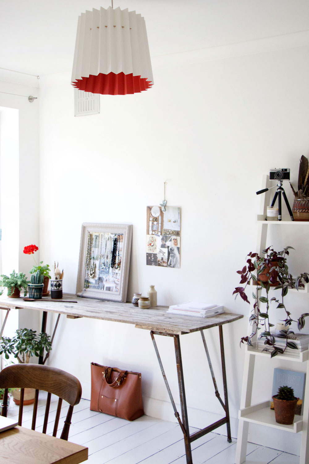 Office makeover with Farrow and Ball Floor Paint