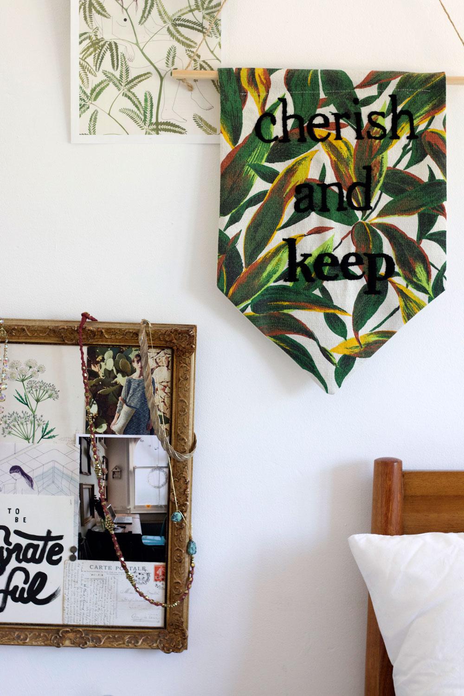 ecclectic bedroom decor