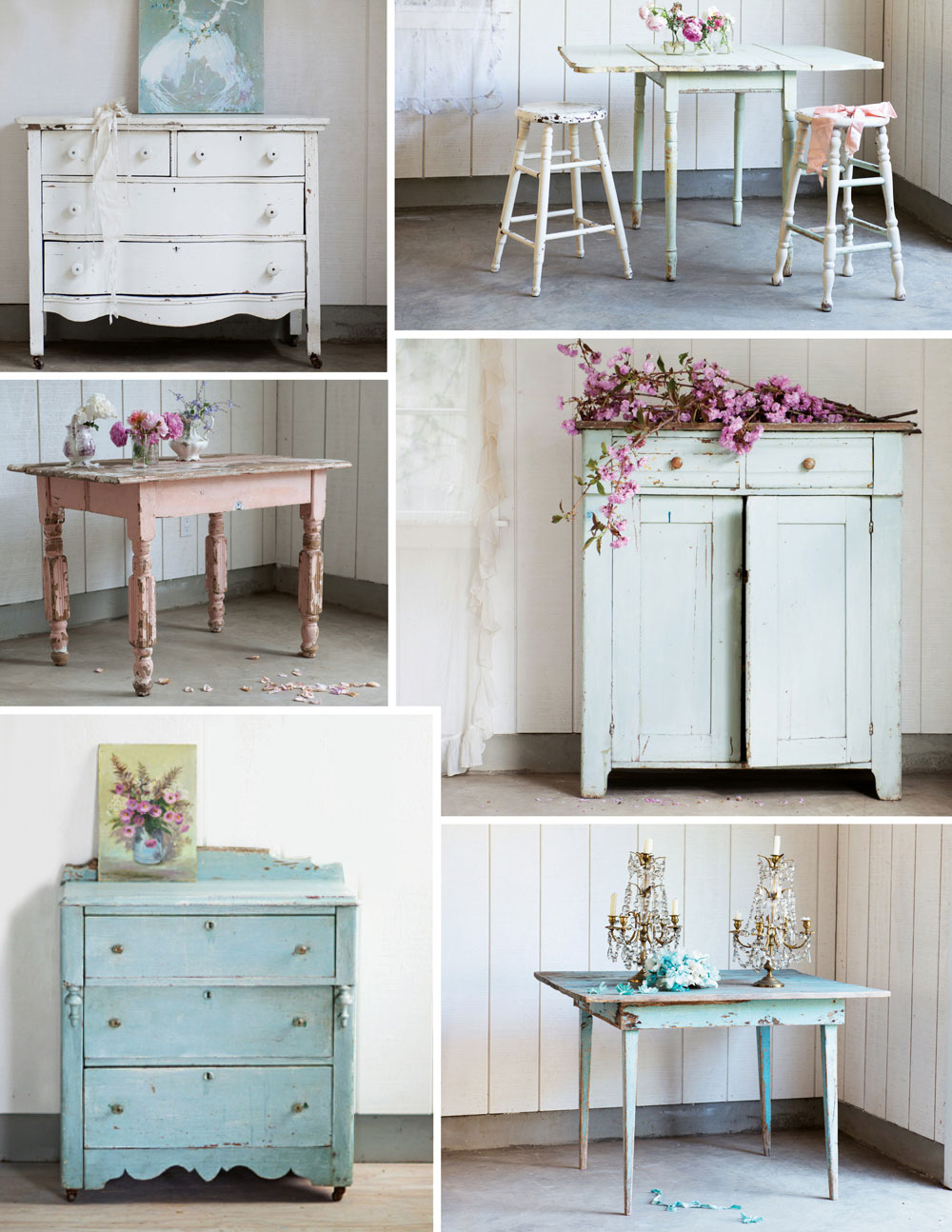 rachel ashwell 39 s world of shabby chic lobster and swan. Black Bedroom Furniture Sets. Home Design Ideas