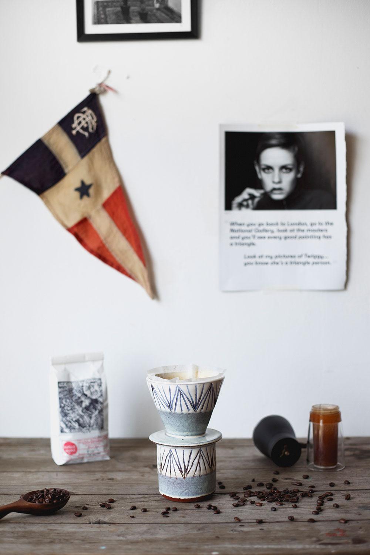 ceramic coffee dripper home brew v60 made in the uk