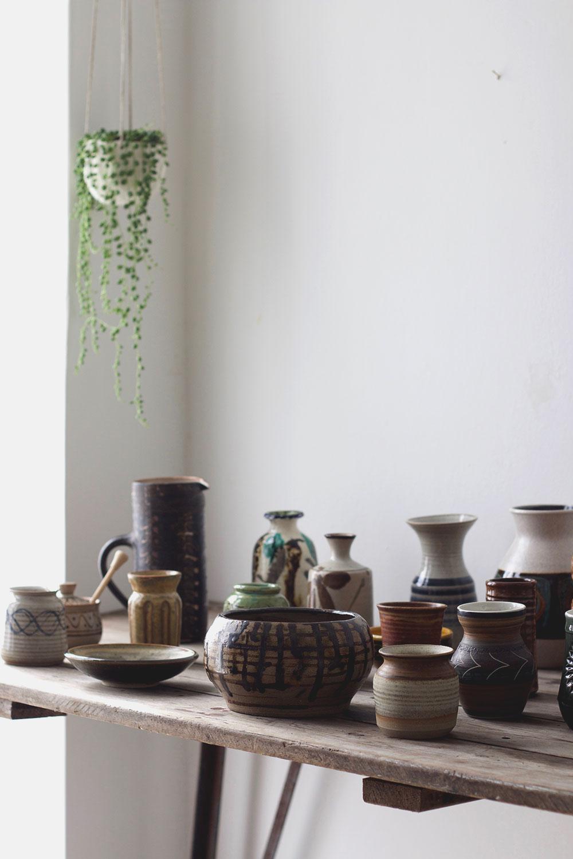 vintage ceramic styling