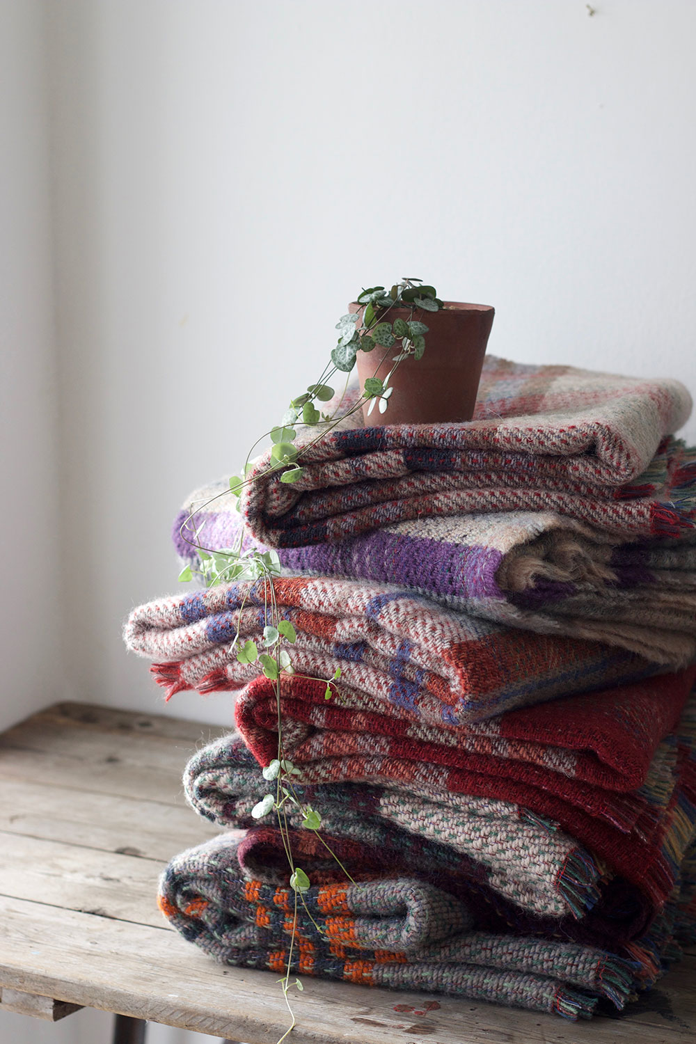 Recycled blankets the future kept