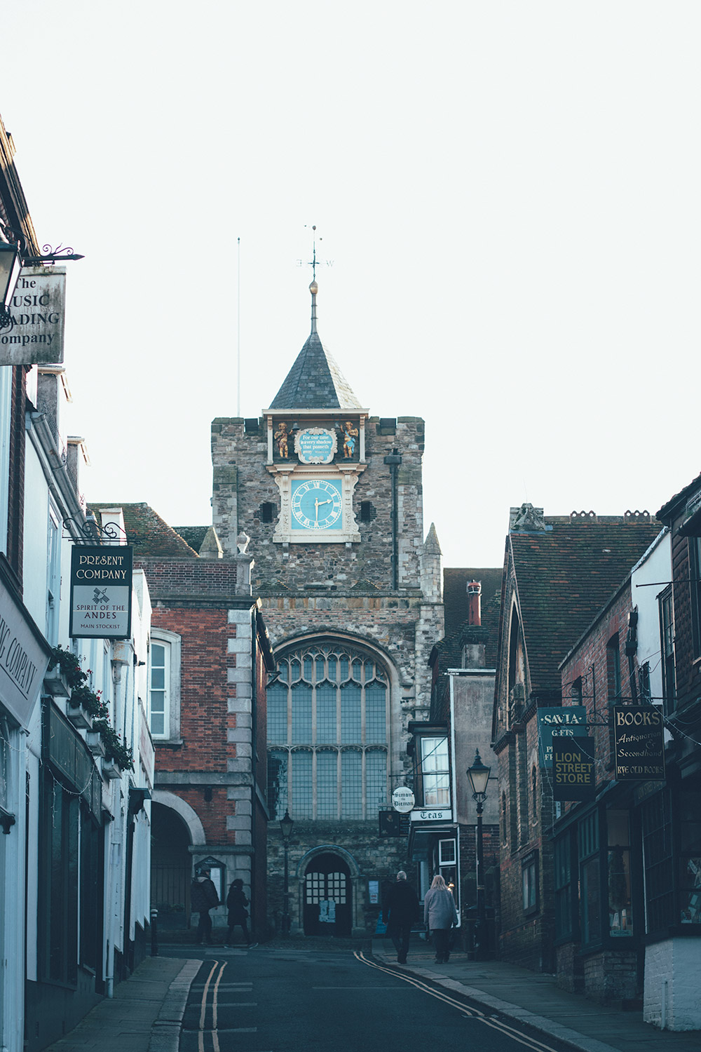 Rye church tower