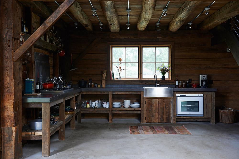 Modern Pastoral Ulster Barn cottage