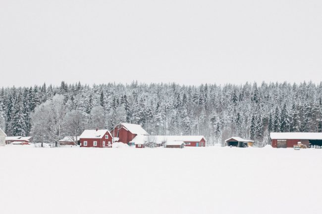 Swedish Lapland Bovallen