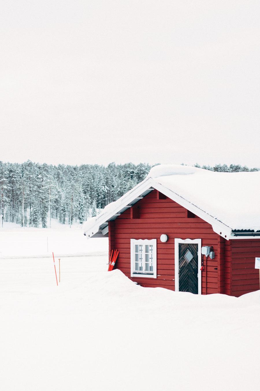 Talvatis lake jokkmokk