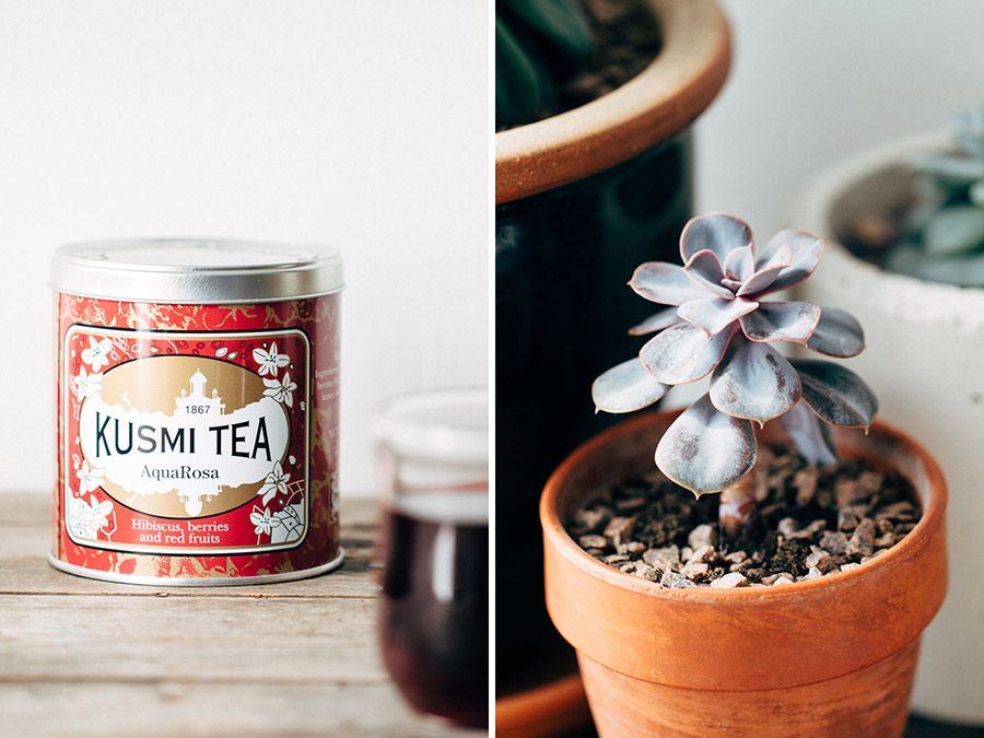 Kusmi fruit tea infusion aqua rosa