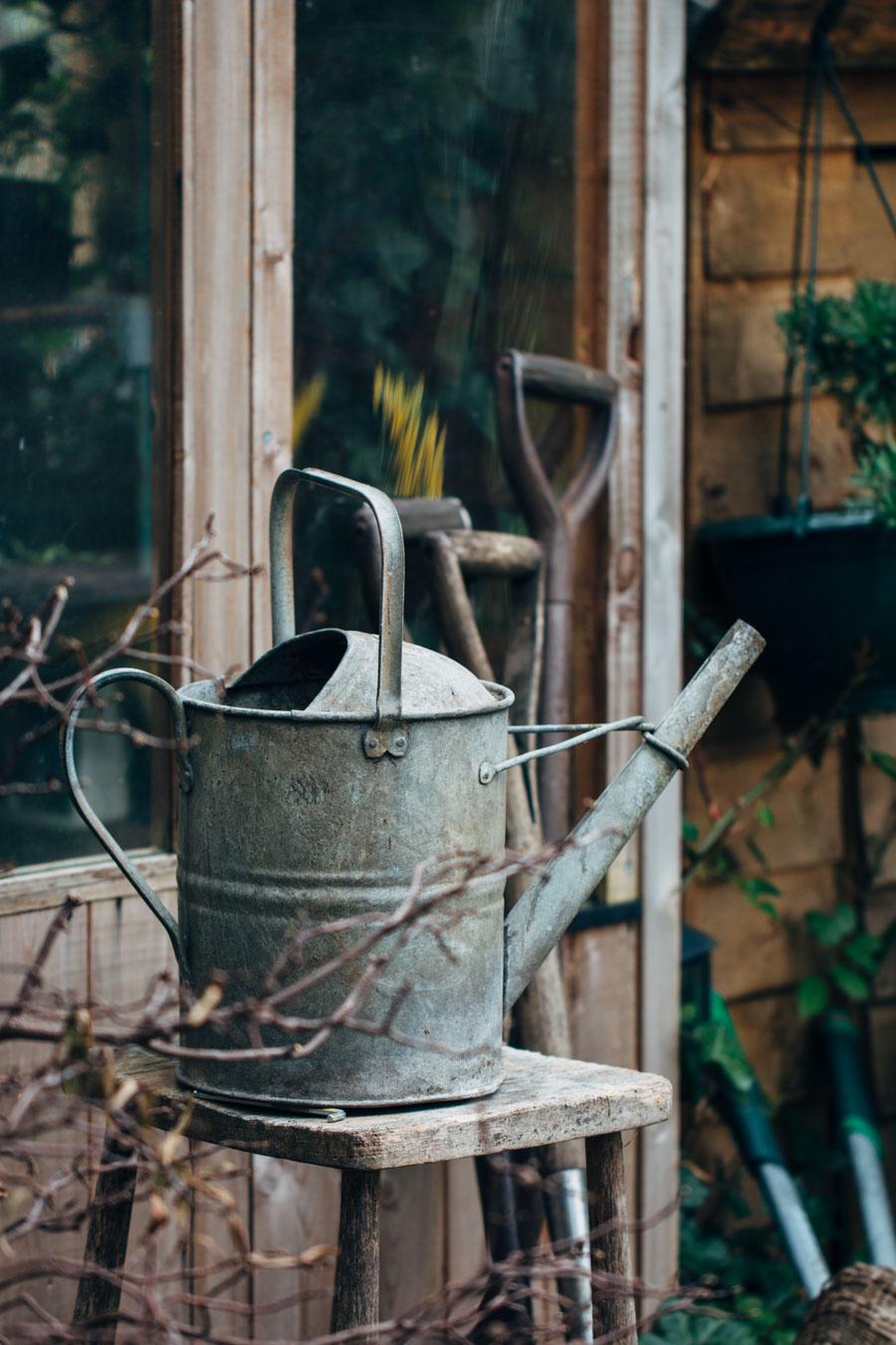 Vintage garden accents