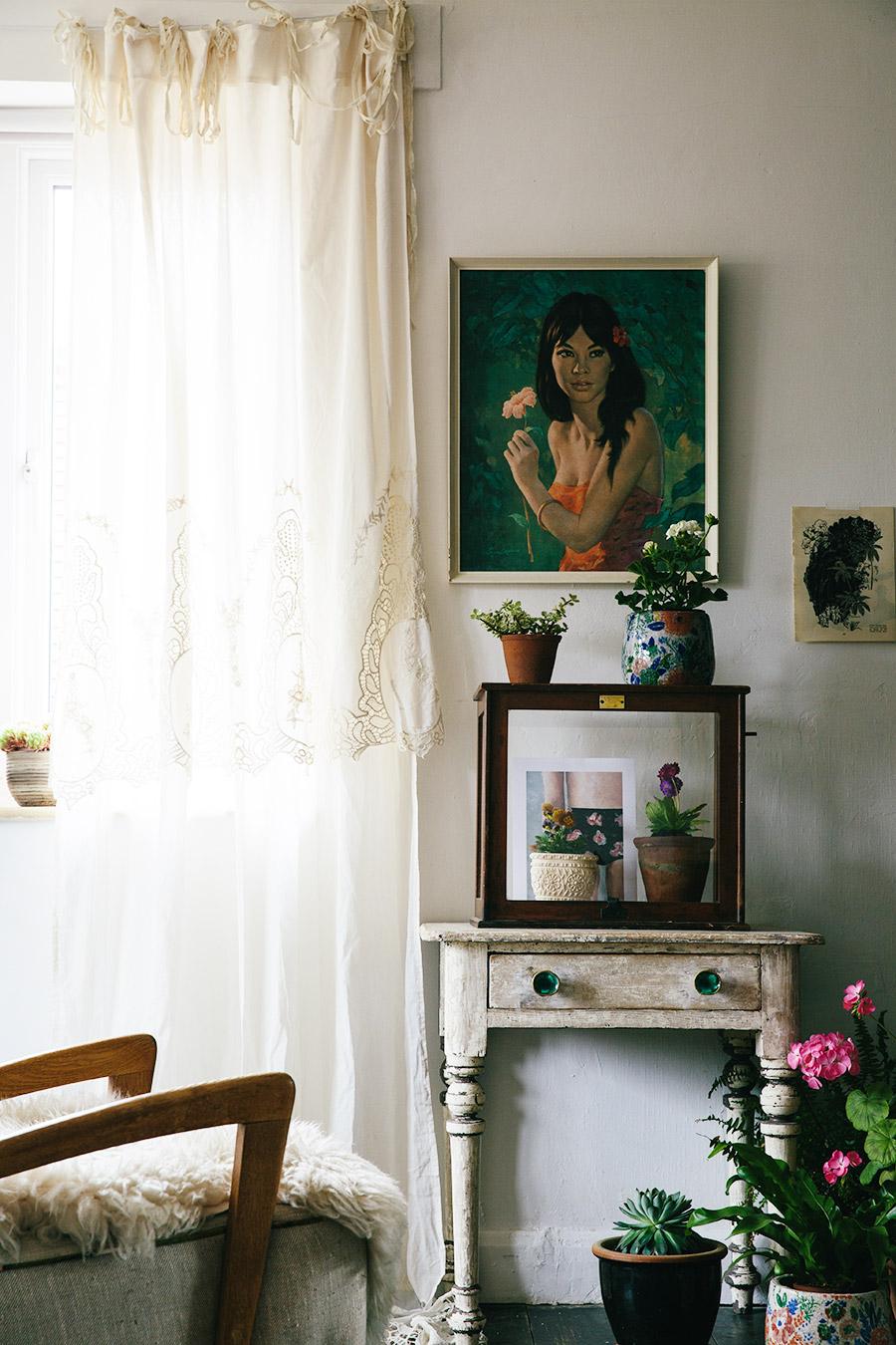 Spring living room update
