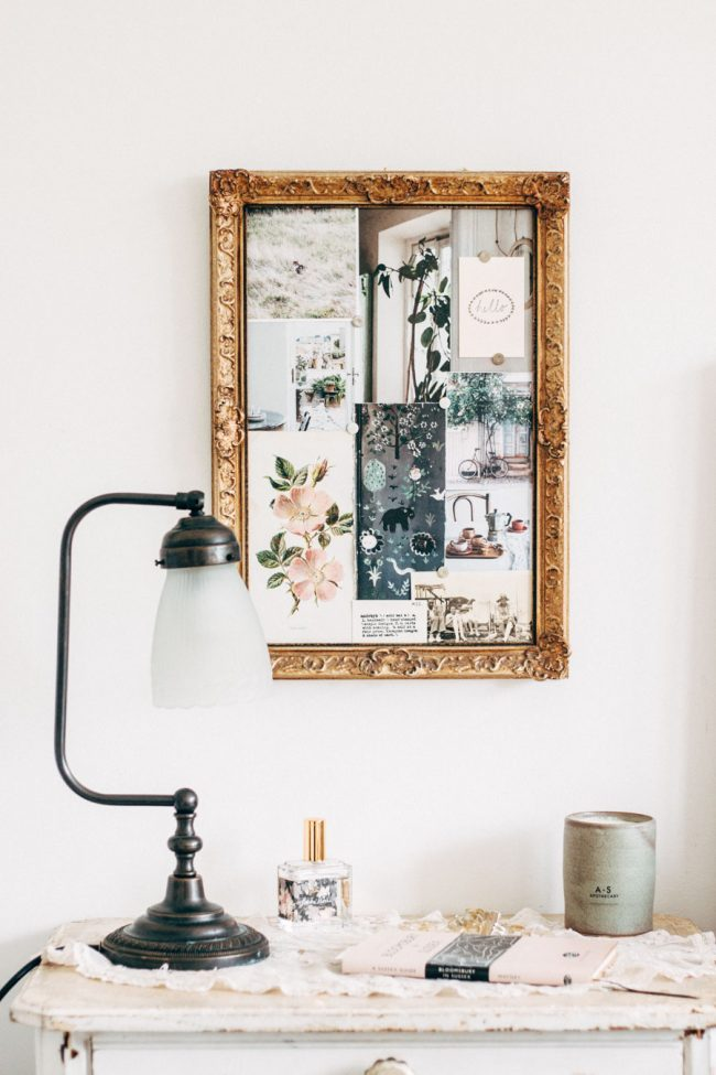 Blush bedroom decor