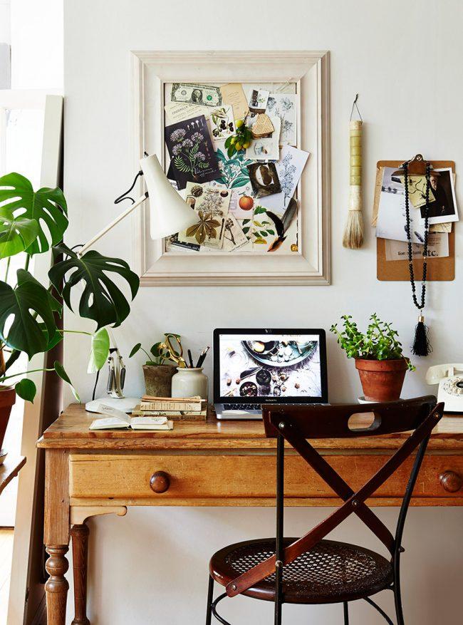 Botanical inspired interiors