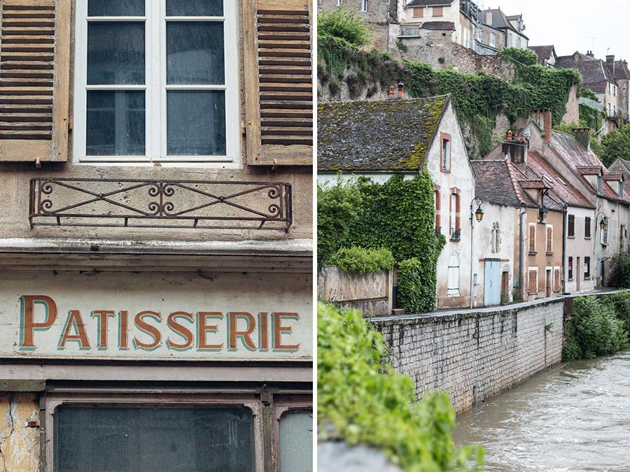 Beautiful towns - Semur-en-Auxois France