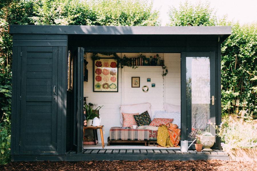 Rustic garden retreat