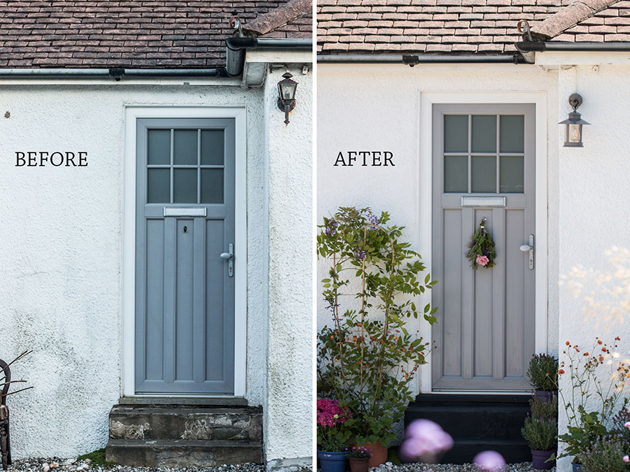 Mini makeover with B&Q