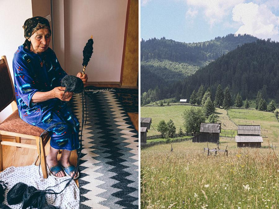 Romanian weaving retreat 2016