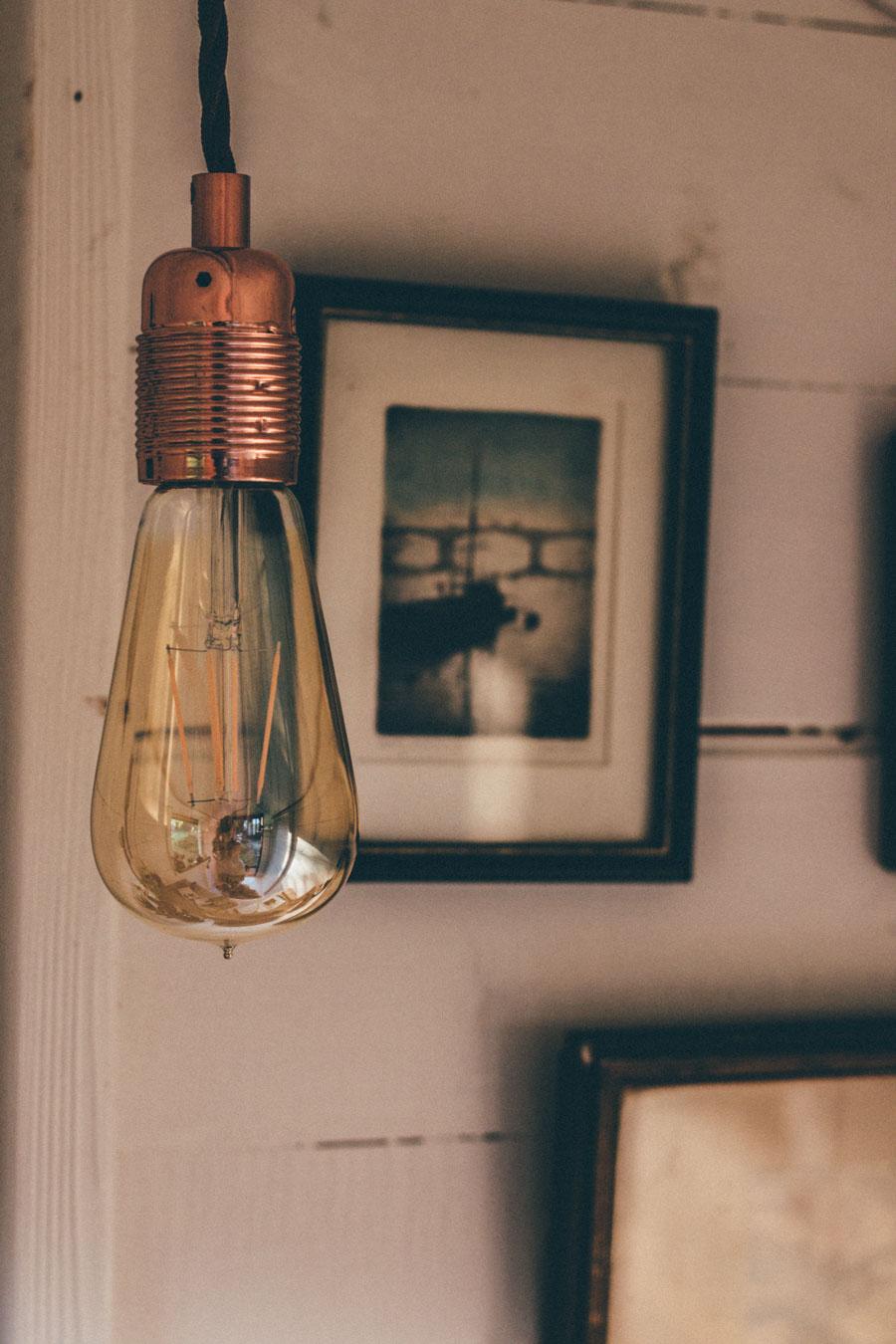 William and Watson vintage lighting