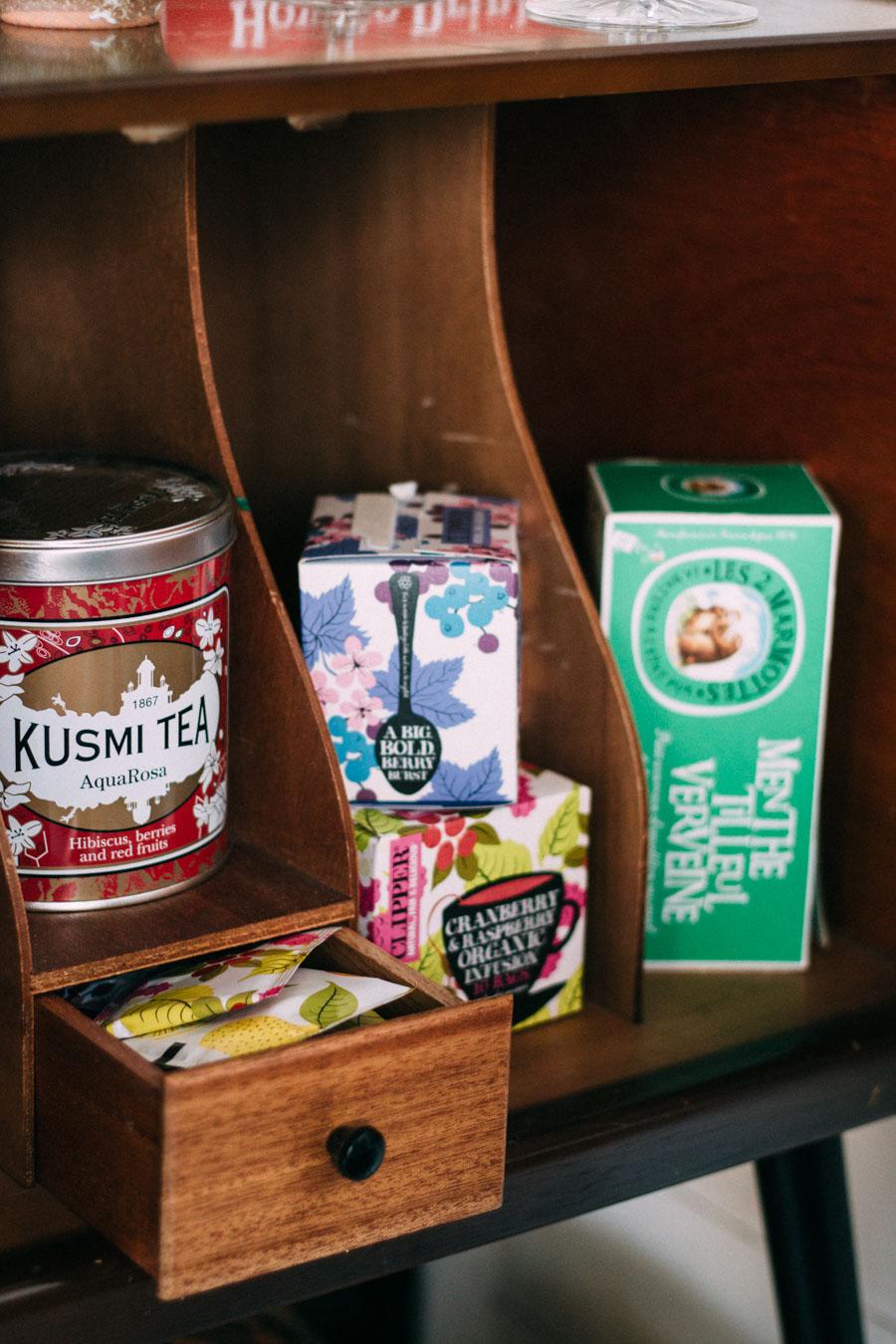 Favourite herbal teas