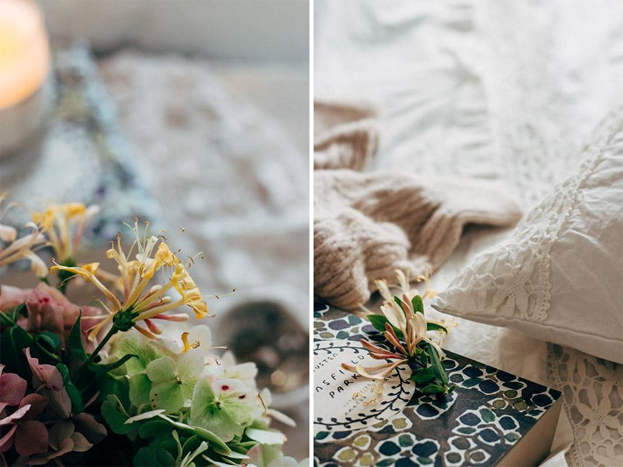 Autumn bedroom update - cosy socks