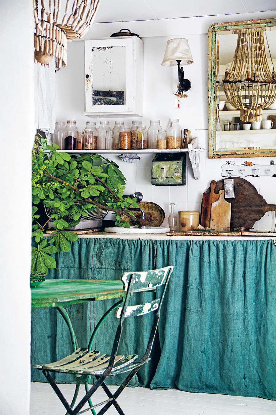 Green Kitchen styling