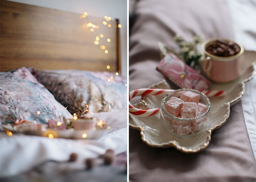 Nutcracker ballet inspired bedroom styling