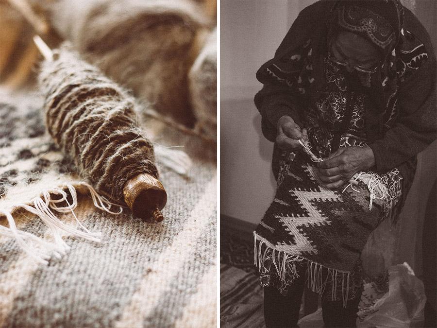 Romanian artisan weavers