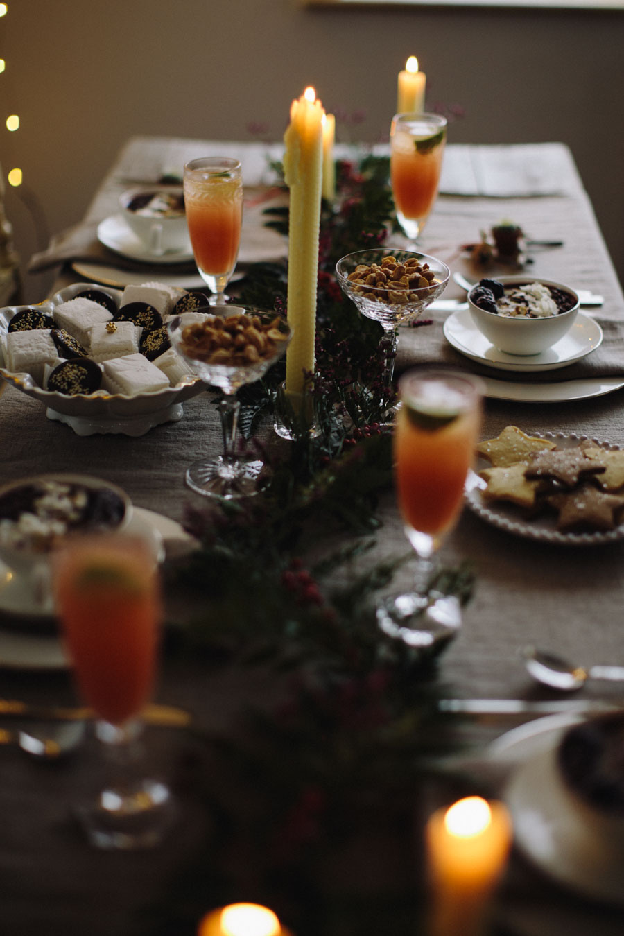 timeless Christmas table
