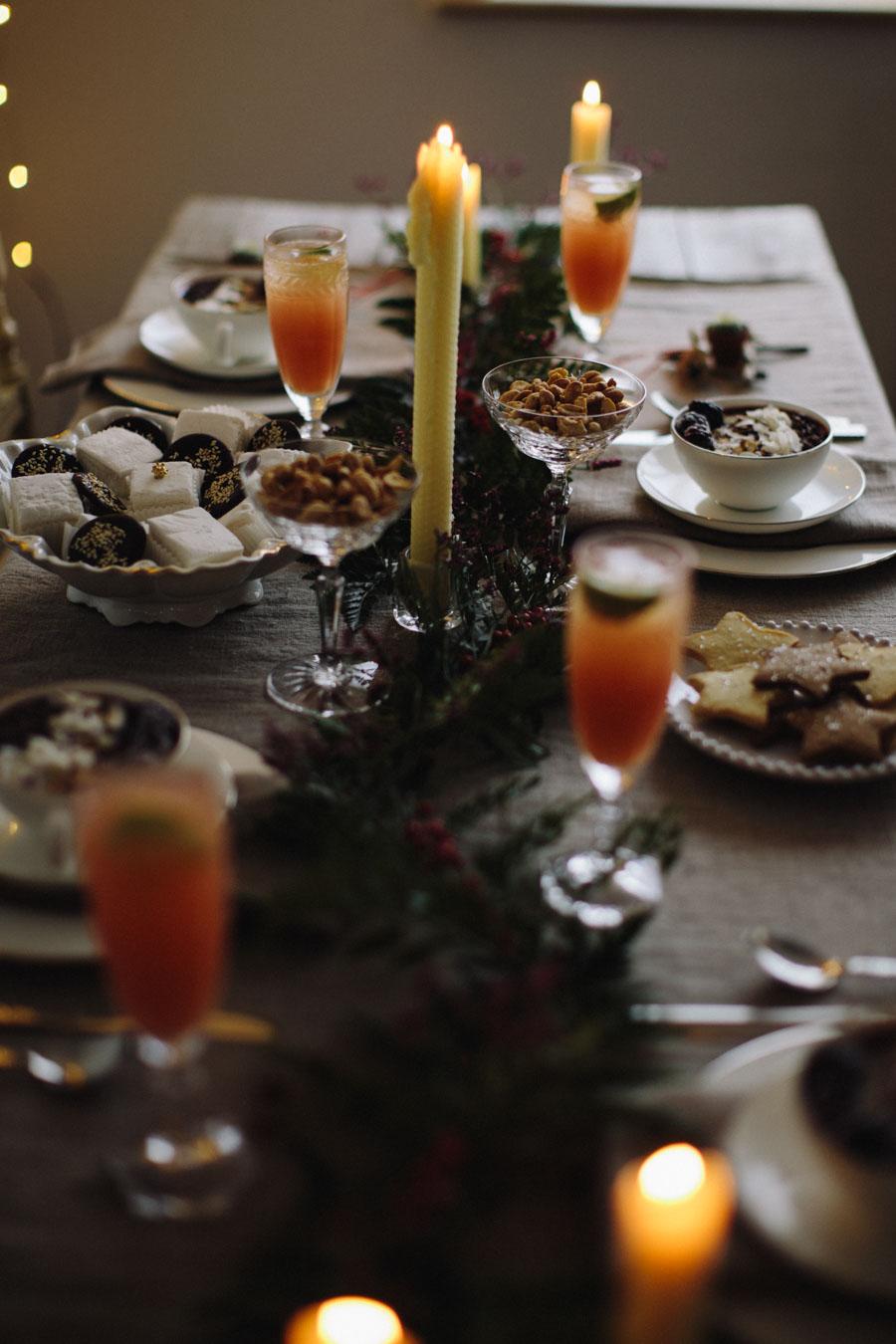 timeless Christmas table