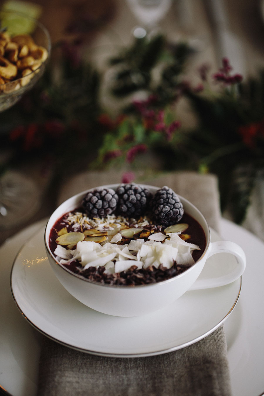 Christmas Smoothie Bowl