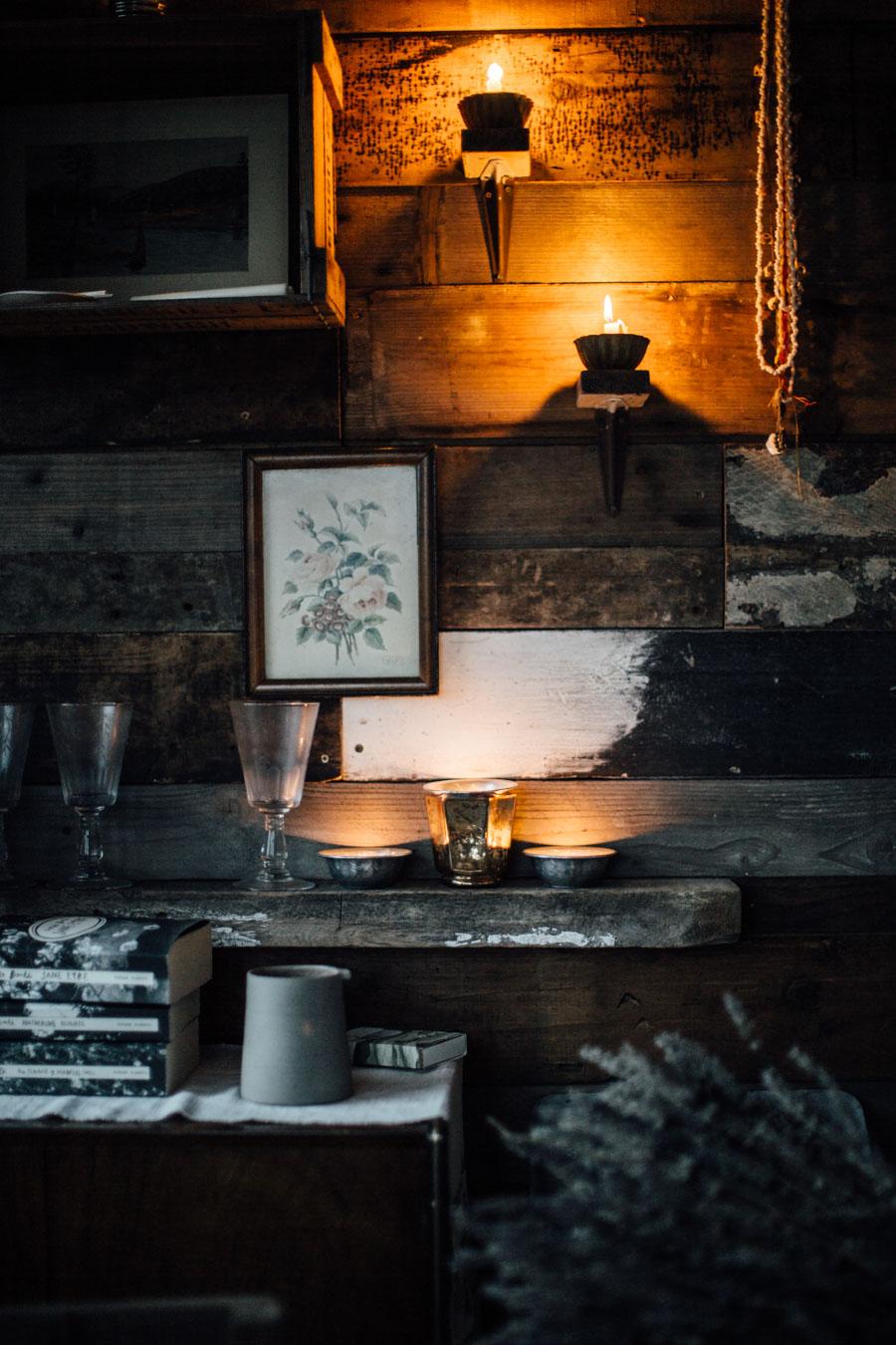 rustic garden cabin style