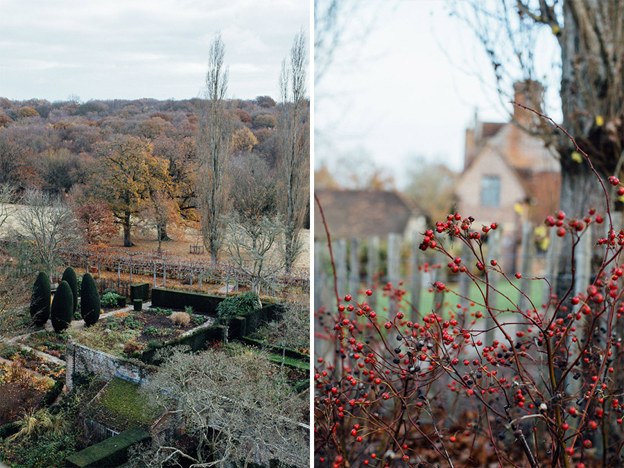 Sissinghurst in the winter