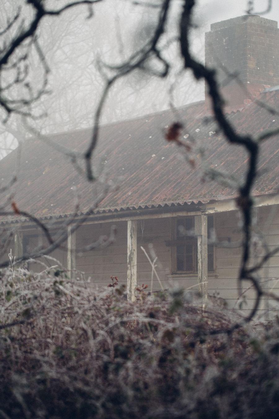 Derelict shack