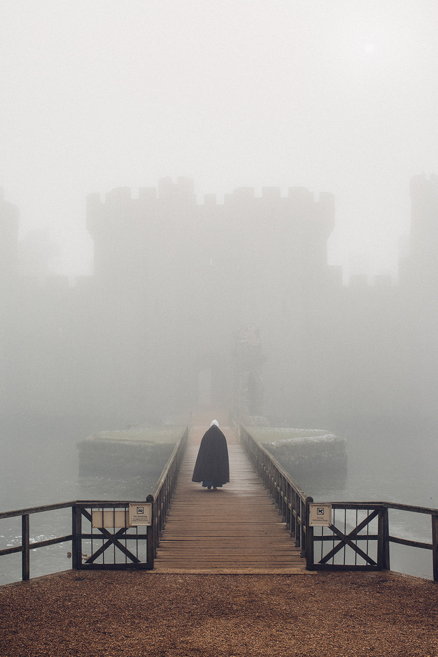 Bodiam castle winter 2017