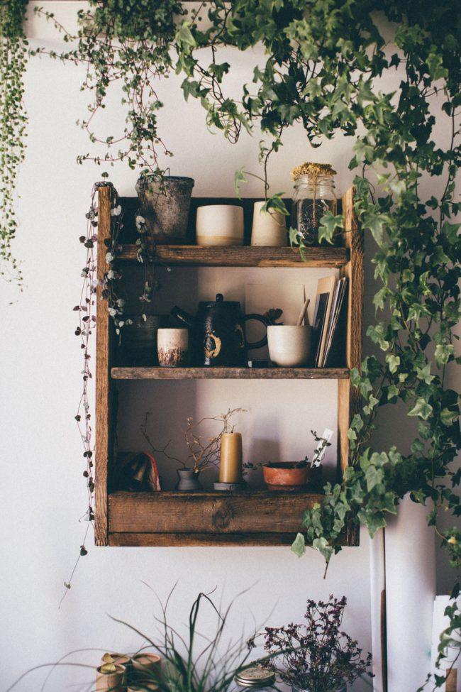 Hand made shelf