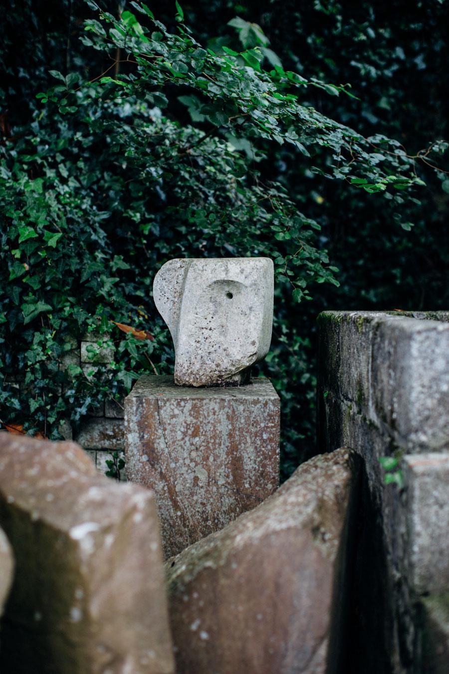 Barbara Hepworth sculpture garden