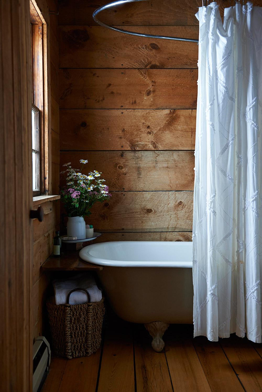Wood panelling via Modern Pastoral