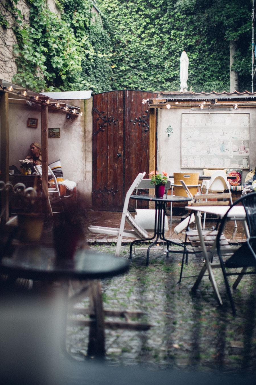 Cafe Agnes Courtyard Malmö