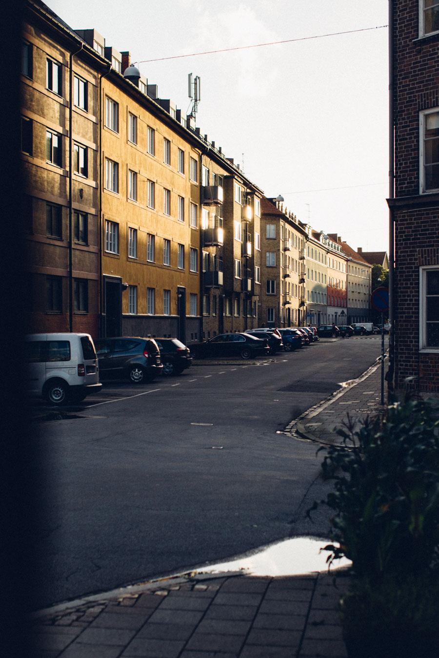 Malmö city streets