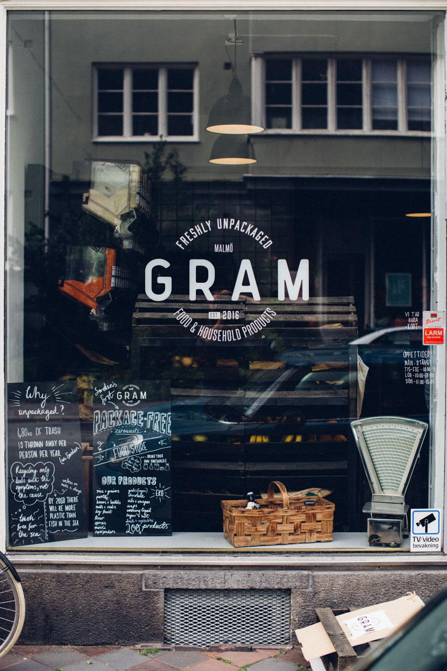 Gram Zero Packaging Store Malmö