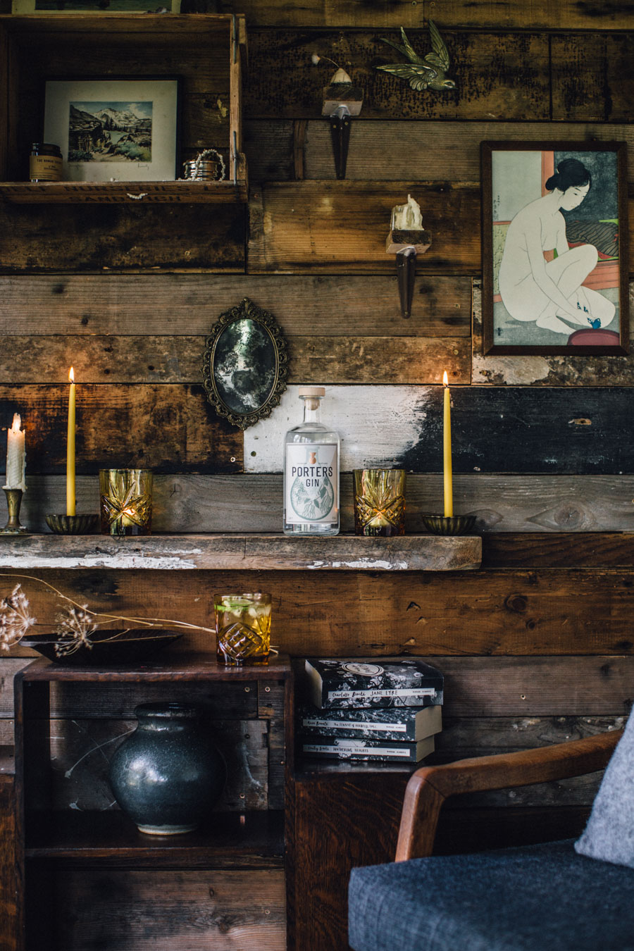 Gin in the Tea shed