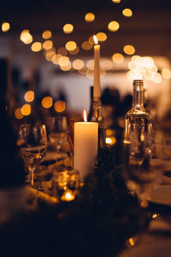 Candlelit supper club