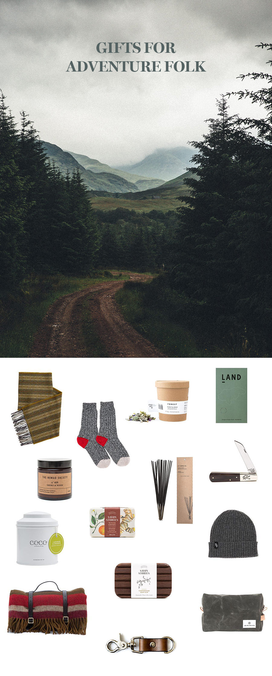 Adventure folk Gift Guide