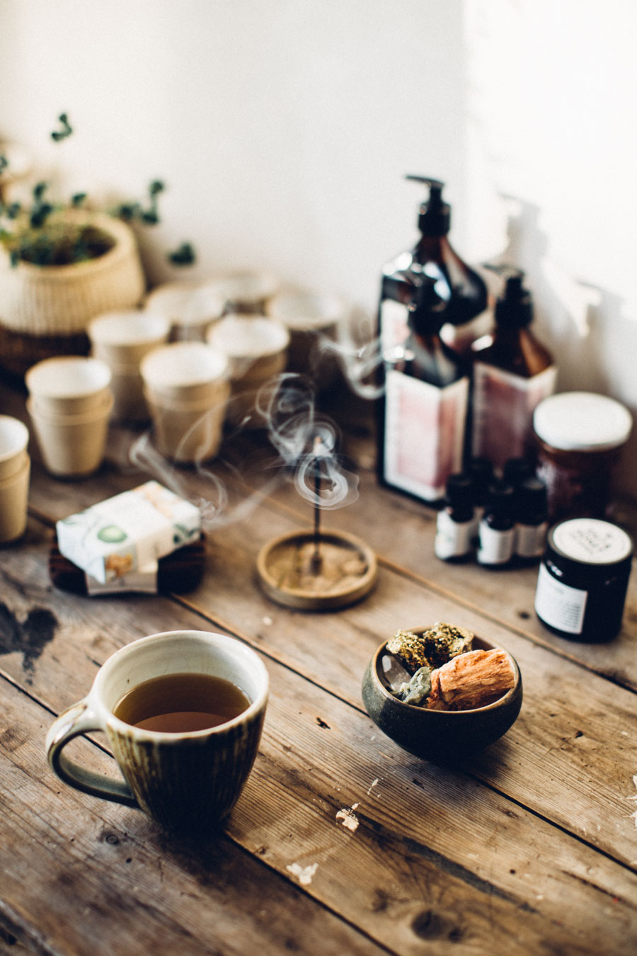Morning rituals - space cleanse