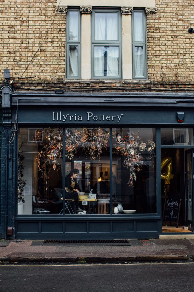 Pop Up at Illyria Pottery in Oxford