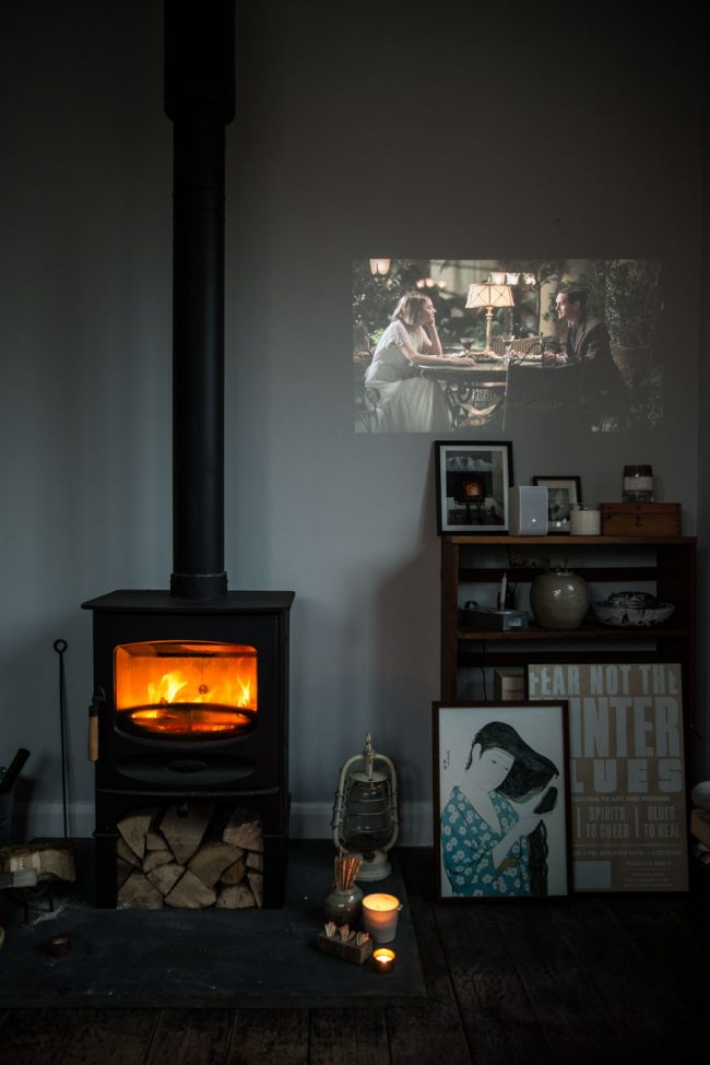 Cosy winter movie nights