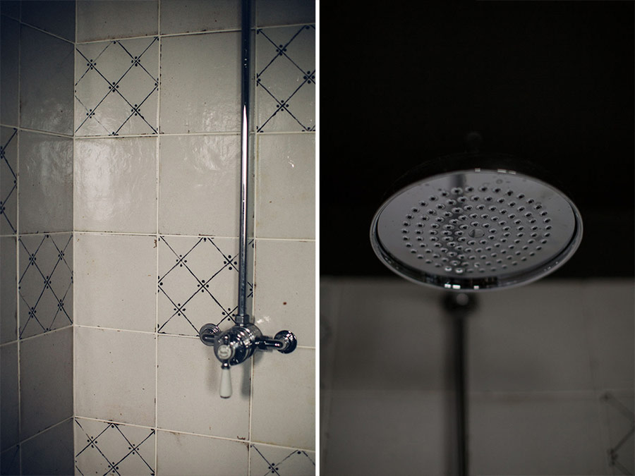 Mira Realm ER vintage style chrome mixer shower