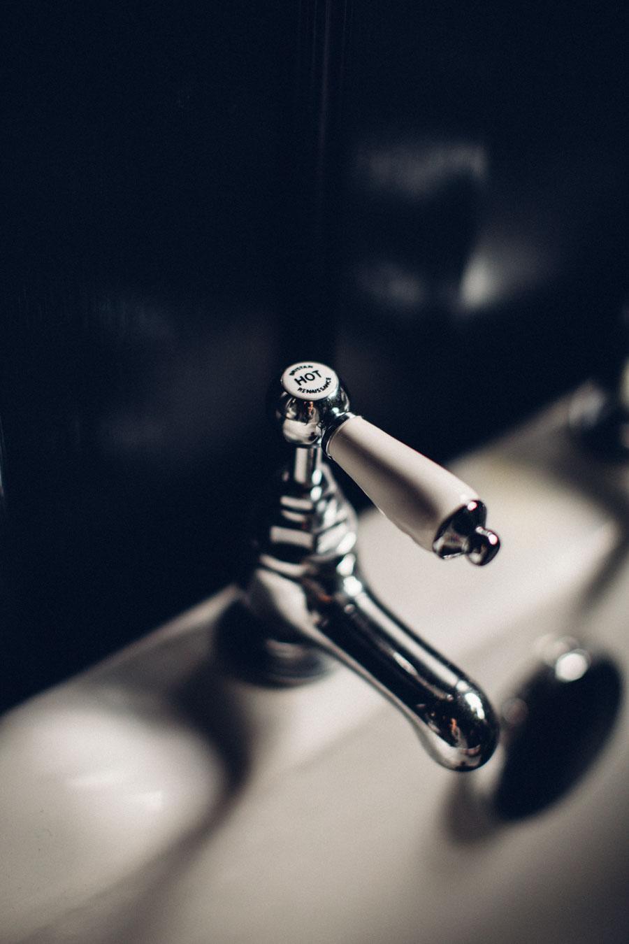 Mira Realm ER vintage style chrome taps
