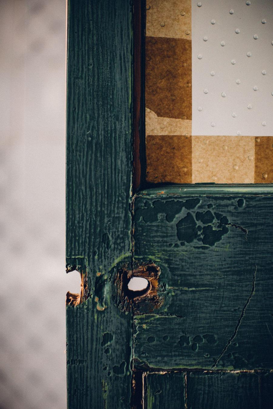 Up-cycled vintage doors
