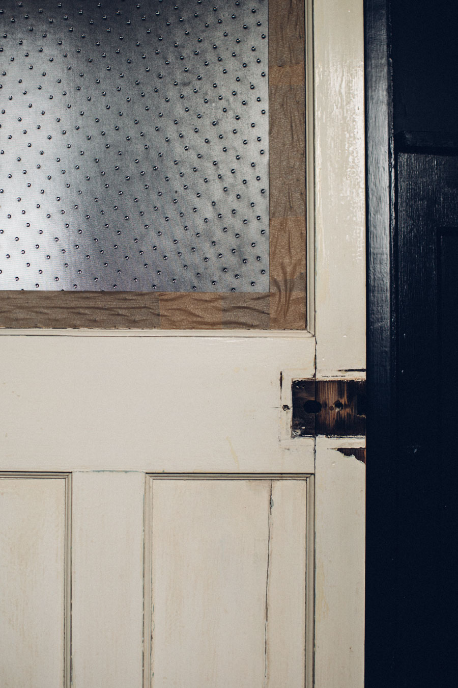 Salvaged vintage doors