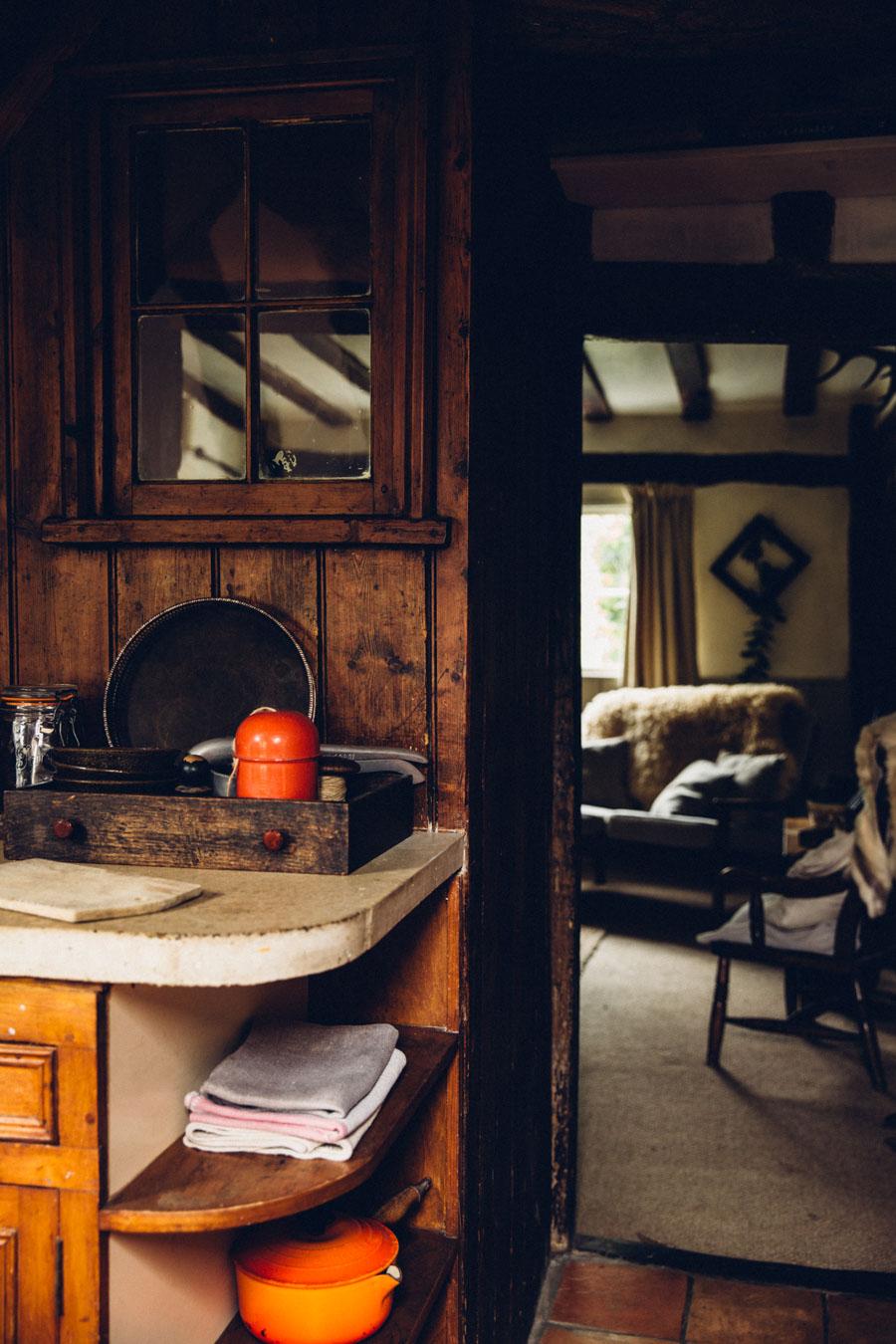 Rustic vintage style